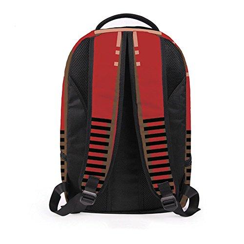 MOGUU Backpacks Mädchen, Jungen, Multiplen Kompartimenten, Sack, Sack, Sack Wasserdichter Rucksack, Student Rucksack Geeignet Für 14 - Zoll - Laptop (Eine Vielfalt Von Stilen),B B