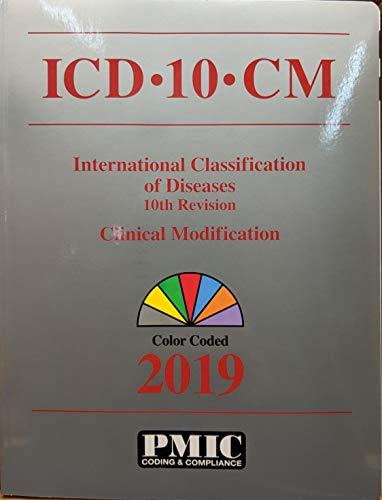 2019 PMIC ICD-10-CM Books Coders Choice 10th Revision Clinical Modification