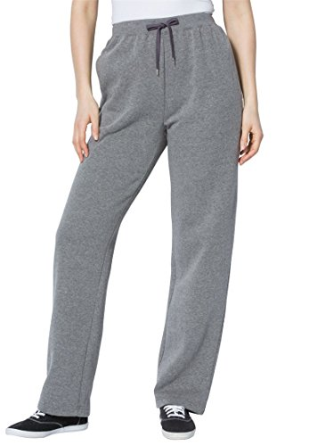 Women's Plus Size Tall Sweat Pants In Easy Fleece Medium ...