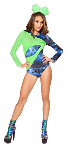 [Alien Babe Costume - Small - Dress Size] (Alien Costume Woman)