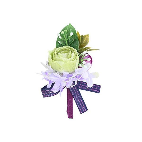 Febou-Wedding-Wrist-Corsage-Boutonniere-for-Bride-Bridemaids