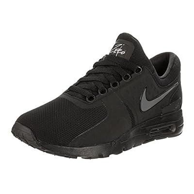 NIKE Women's Air Max Zero Black/Black/Dark/Grey/White Running Shoe 11 Women US   Road Running