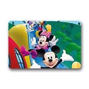 Generic Custom diseño de Mickey Mouse Clubhouse entrada Felpudo, 45,72cm por 76,2cm alfombra