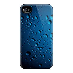 LKR3609gdMF Snap On Case Cover Skin For Iphone 4/4s(bluedrops)