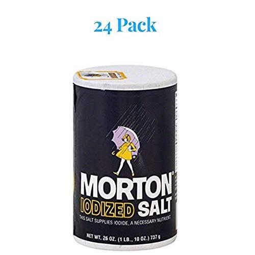 Morton Iodized Salt, 26 oz (Pack of 24) by Morton (Image #2)
