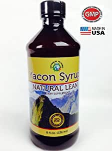 Yacon Syrup 100% Pure - Metabolism Booster Says Dr Oz - Plus Bonus Recipe Book - Premium Raw Extract All Natural Weight Loss Sugar Substitute- Something Sweet Can Help You Lose Weight!