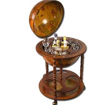 Alkohol Aufbewahrung Möbel große globus bar hausbar globusbar wein regal minibar 110cm x 55 5cm