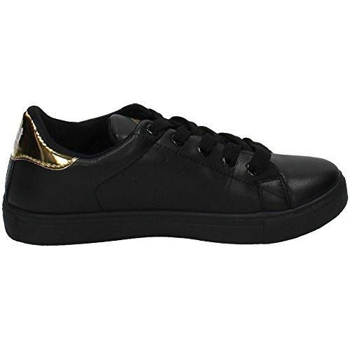 de XTI sport femme Chaussures Noir PqvBw8q5