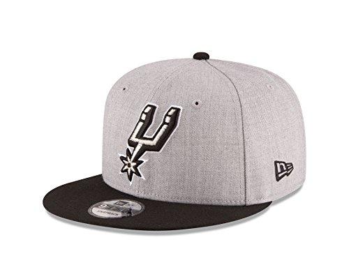NBA San Antonio Spurs Adult Men NBA 9Fifty 2Tone Heather Snapback Cap,OSFA,Heather -