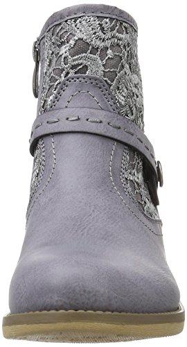 Rieker Damen 96678 Kurzschaft Stiefel Blau
