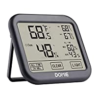 Domie Digital Temperature and Humidity Monitor Deals