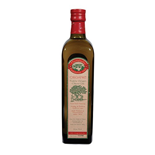 Montebello Organic Olive Oil - Extra Virgin - Case of 12 - 750 ml
