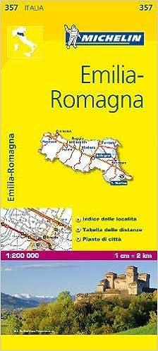 Cartina Michelin Piemonte.Michelin Map Italy Emilia Romagna 357 Maps Local Michelin Italian Edition Michelin 9782067126664 Amazon Com Books