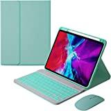 for iPad Air4 10.9 2020 Keyboard Case+Mouse with