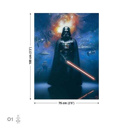 Star Wars Darth Vader Leinwand Bilder (PPD712O1FW)