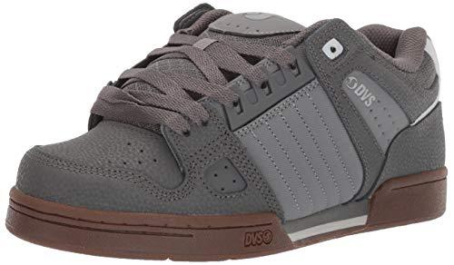 DVS Men's Celsius Skate Shoe, Charcoal Grey, 12 Medium US