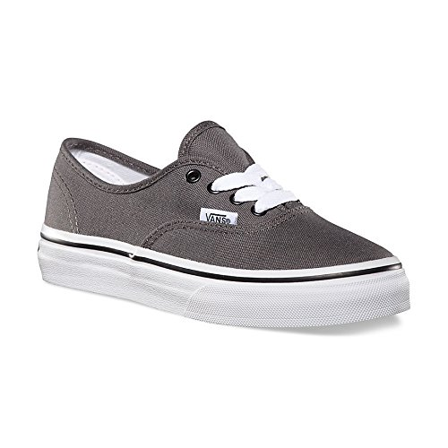 - Vans Kids Authentic Pewter/Blk Skate Shoe 11.5 Kids US