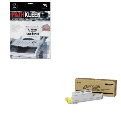 KITREARR1237XER106R01220 - Value Kit - Xerox 106R01220 High-Yield Toner (XER106R01220) and Read Right PathKleen Printer Roller Cleaner Sheets (REARR1237)