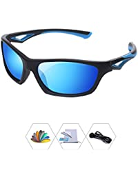 Sports Polarized Sunglasses For Kids Children Boys And...