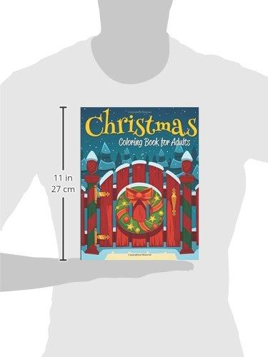 Christmas Coloring Book For Adults Amazonca Celeste Von Albrecht Books