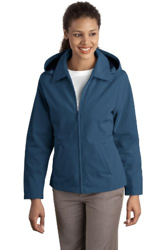 Port Authority Ladies Legacy Jacket. L764 Millennium Blue/Dark Navy S