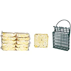 Suet Plus 11 Pack Suet Cakes with Single Feeder