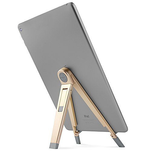 Twelve South Compass 2, gold - Portable display stand with typing angle for iPads & tablets by Twelve South