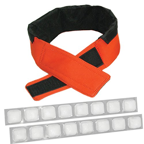 FlexiFreeze Cooling Collar, Orange