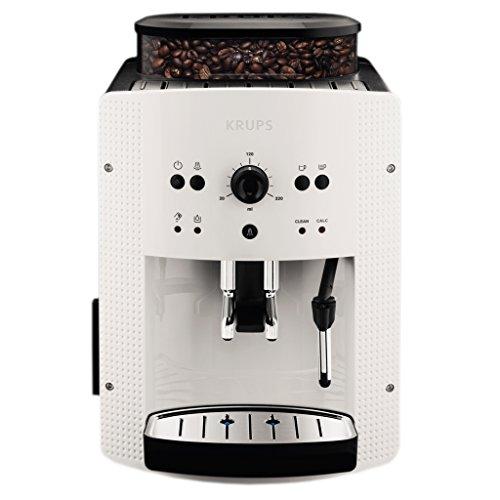 Krups EA8105 - Cafetera automática, 15 bares de presión, 3 niveles de intensidad de café, cantidad ajustable de 20 ml...