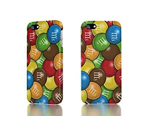 Apple iPhone 5 / 5S Case - The Best 3D Full Wrap iPhone Case - candy painted m and ms