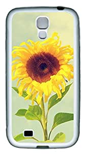 Samsung Galaxy S4 Case TPU Customized Unique Print Design Beautiful Sunflower 2 Case Cover For Samsung Galaxy S4