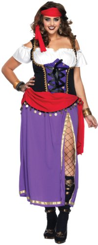 Baby Gypsy Costumes - Traveling Gypsy Costume - Plus Size 1X/2X - Dress Size 16-20