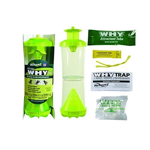 RESCUE Non-Toxic Reusable Trap for Wasps, Hornets
