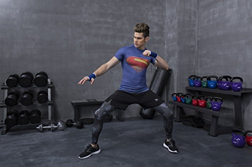 Red Plume Men's Compression Tights Fitness Shirt,Casual Quick-Dry Sports T-Shirt (S) by Red Plume (Image #7)