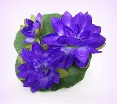 Wholesale Water Lilies - Inna-Wholesale Art Crafts New Large Floating Silk Water Lily Purple Lilies Centerpiece Decorating Flowers - Perfect for Any Wedding, Special Occasion or Home Office D?cor