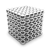 Magnetic Balls, Super Cube, Nanodot, Buckyballs - Premium Magnets Measured at 5mm - 216 Piece Fidget Cube That is Nickel Plated, Buildable, Stress Relief Magnetic Blocks, Twiddler. Educational Toy