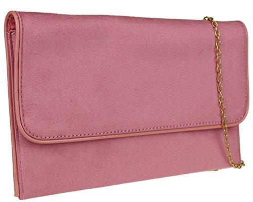 pour Pochette Poudr Girly femme Handbags Rose 8pEYnqTw