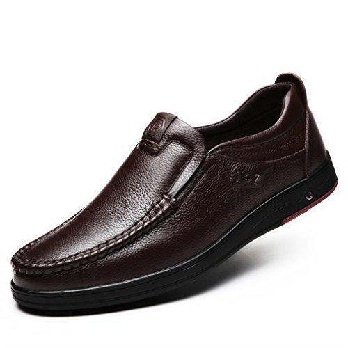 marrón Hombre Feidaeu Feidaeu Zapatos Zapatos Hombre marrón F41wYX