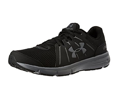 new arrival 0d33d 2e40b Under Armour Men's UA Dash RN 2 Black/Rhino Gray/Rhino Gray Athletic Shoe