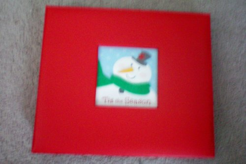 Instant Scrapbook ... tis the Season ... Just add photos and you're done ... 20 designed and embellished pages ... 10 top-loading page protectors ... caption sticker sheet ... photo-safe paper ... New Old Stock