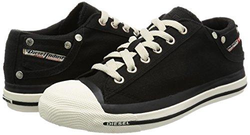 Sneaker black Collo Exposure Donna Low A H0144 Basso Nero Diesel q8EIfFxI