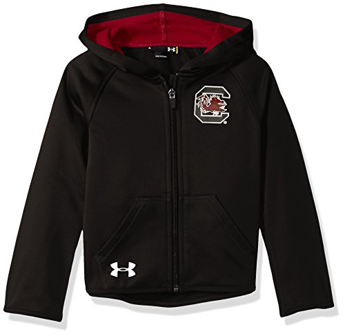 NCAA South Carolina Fighting Gamecocks Girls Hoodie, 24 Months, Black