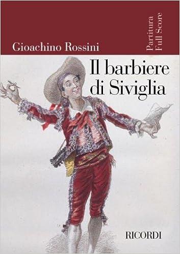 Rossini El Barbero De Sevilla Para Orquesta Partitura Director