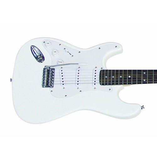 Dimaveryst-203 - Guitarra eléctrica (tanto para zurdos como para diestros), color blanco: Amazon.es: Instrumentos musicales