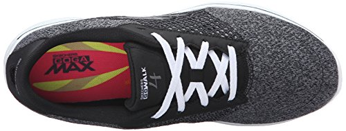 Skechers Gowalk Black Exceed 4 White Mujer Zapatillas qZqHr4