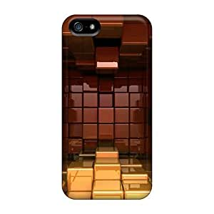 Protection Case For Iphone 5/5s / Case Cover For Iphone(3d Blocks)