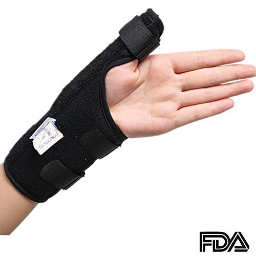 Thumb Splint Wrist Brace Spica Stabilizer Medicine Support Arthritis Left Right Hand BOLE (X-Large: Right - Boots Products Chemist