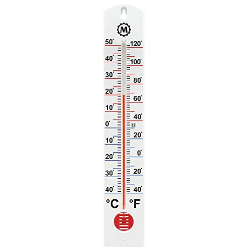 MARATHON BA030001-5 Vertical Outdoor Thermometer - 16-Inch, 5 Pack ()