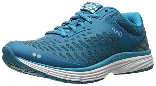 Image of Ryka Women's Indigo Running Shoe, Blue/Silver, 6.5 M US