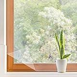 Window Insulation Kit, 2 Pack Indoor Heat Shrink Cling Film Weatherproofing Insulator Kits